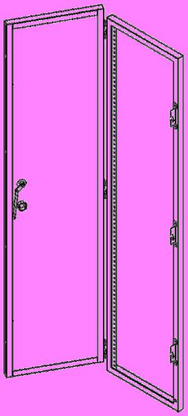 HCU2084D Iso View Door Open Thumb