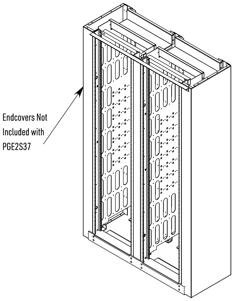 Assembled View with HCUSECA3 Endcover Assemblies