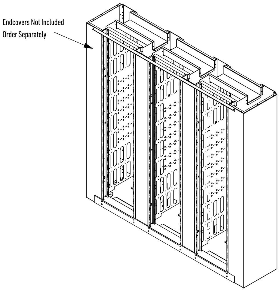 Assembled View with HCUSECA7 Endcover Assemblies