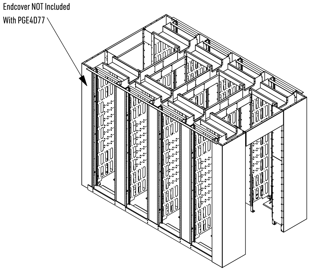 Assembled View with HCUDECA7 End Covers