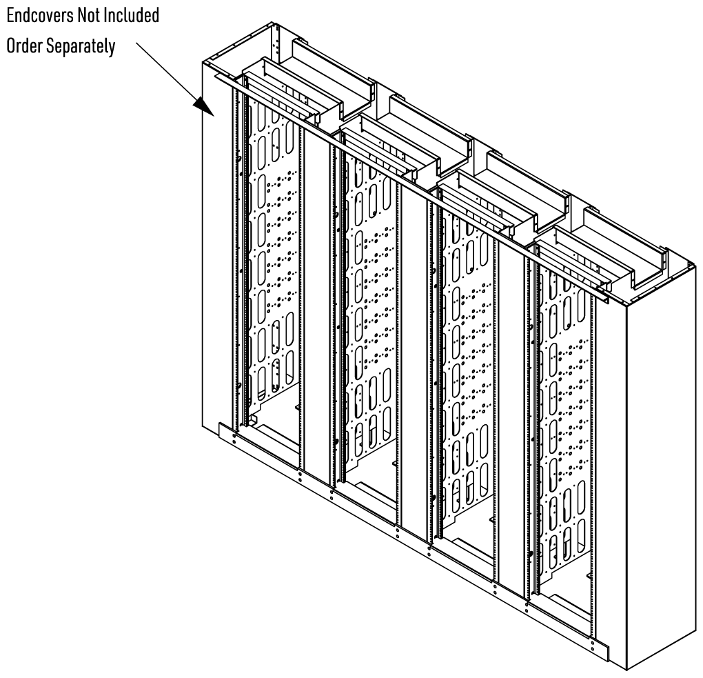 Assembled View with HCUSECA7 End Cover Assemblies