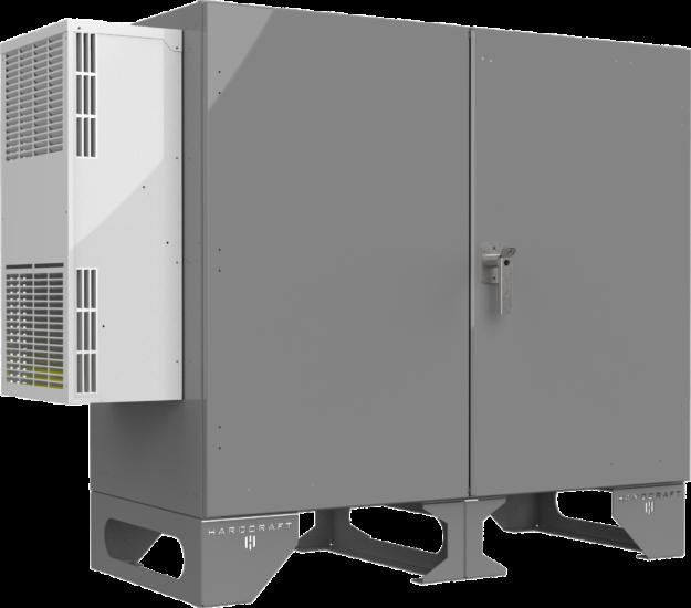 Climate Controlled Enclosure Hcubc003 Front Qtr Closed 116