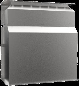 Transformer Cover Quarter Front All White 145